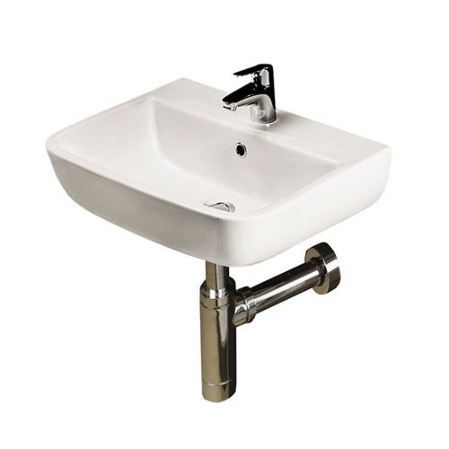 Rak Series 600 400mm Hand Basin - 1 Tap Hole